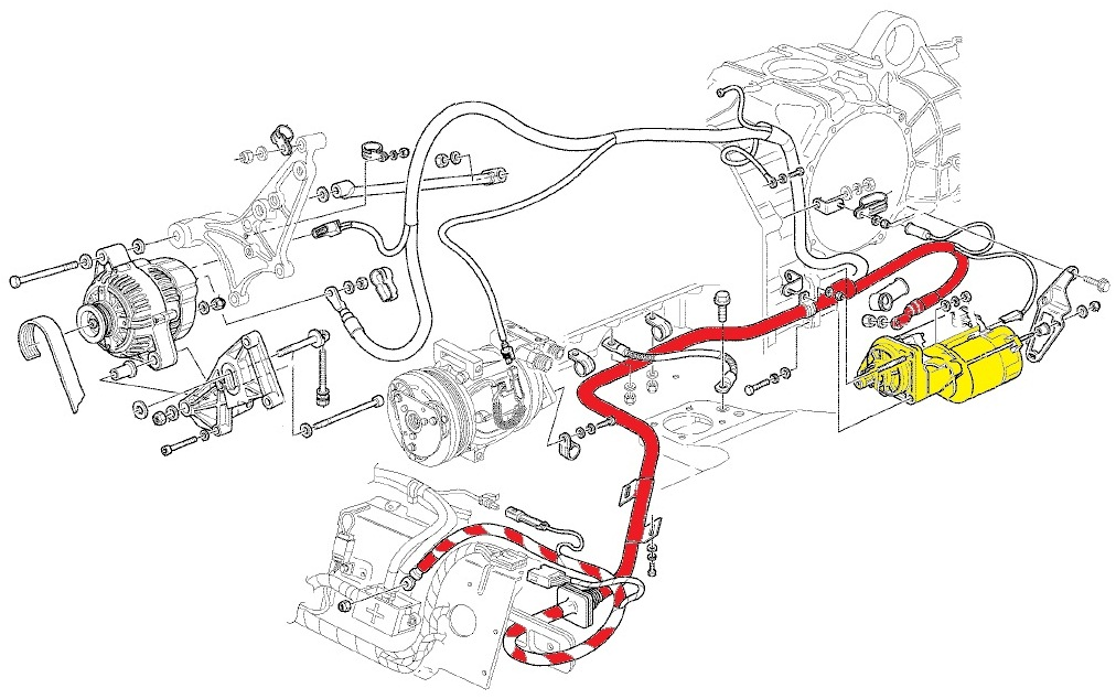 Jump Starting A Flat Battery on ferrari wiring diagram