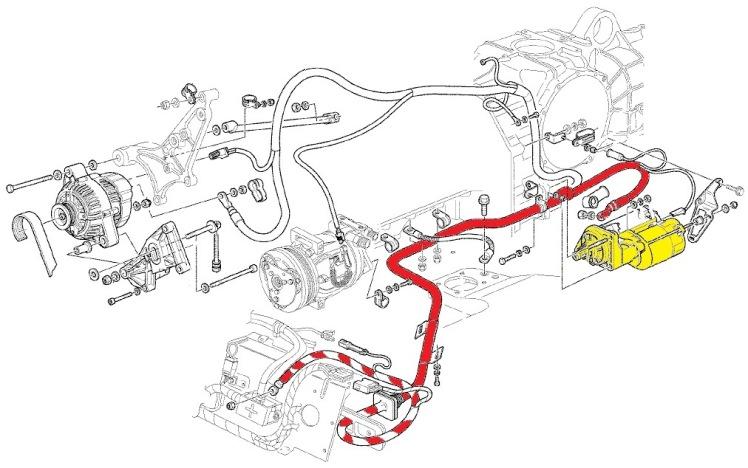 Ferrari 360 Battery