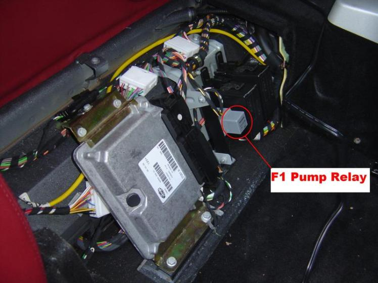 Ferrari 360 F1 Pump Relay