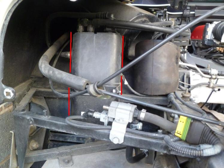 Ferrari 360 Fuel Vapour Canister