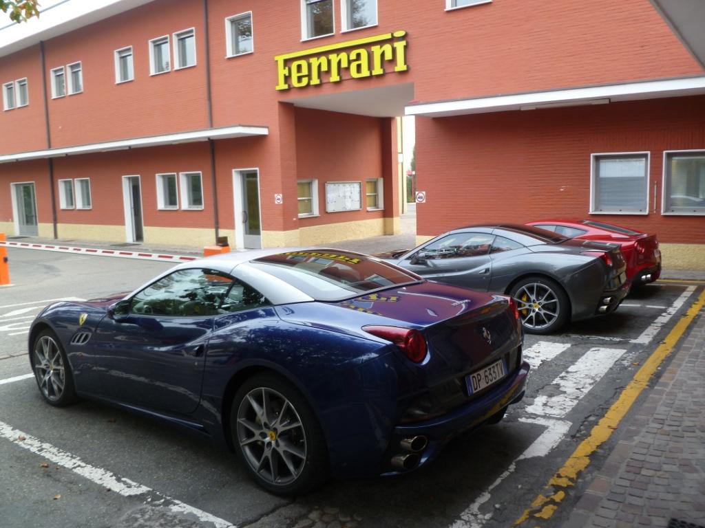 Ferrari Factory Tour Aldous Voice