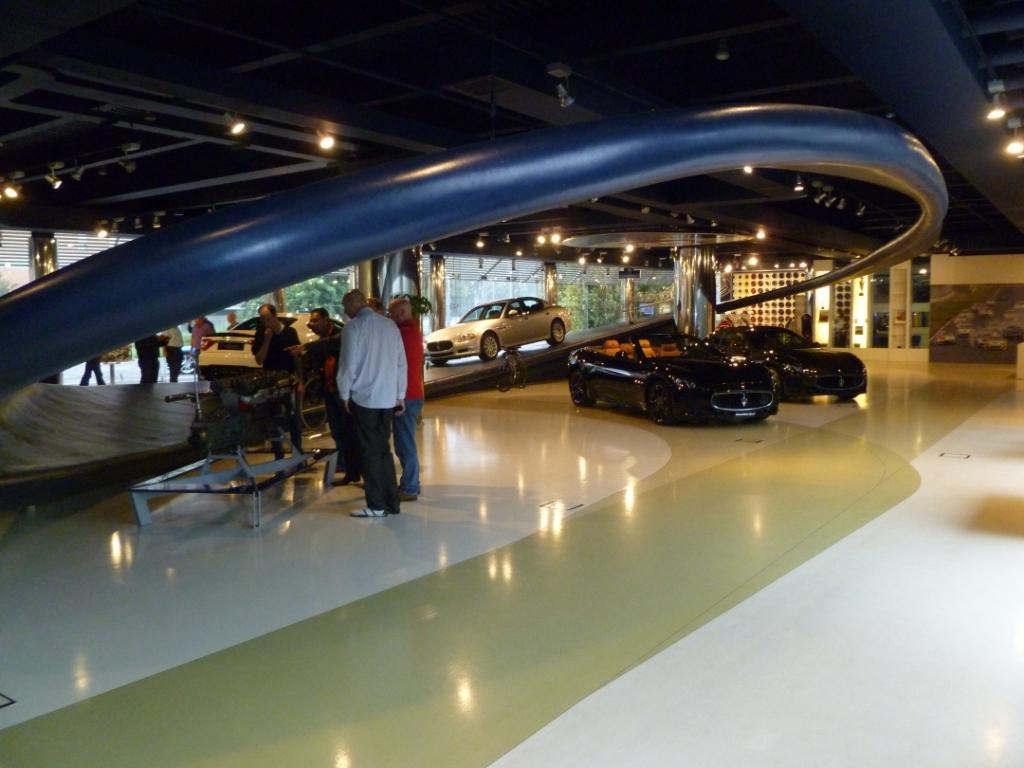 Maserati Factory Tour Aldous Voice