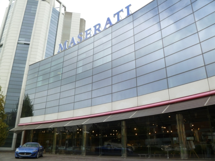 Maserati Factory Tour