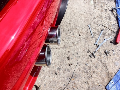 Converting A Ferrari F430 Exhaust To Fit A 360 Aldous Voice