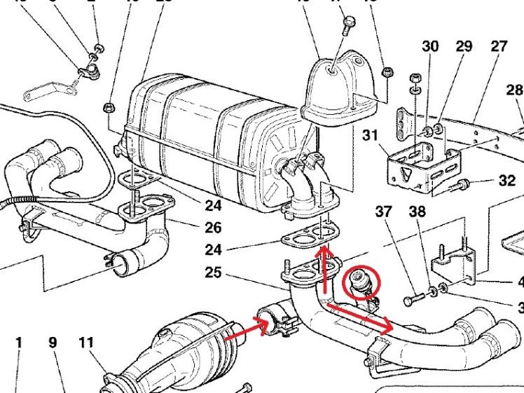 Challenge Stradale Exhaust