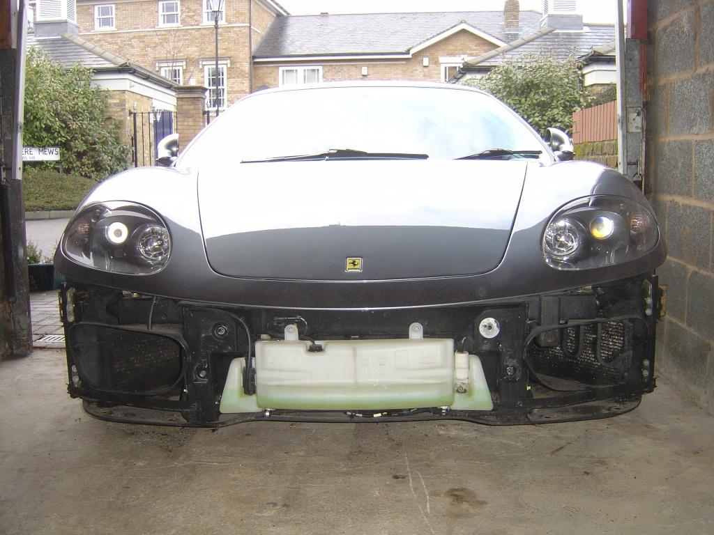 ferrari 360 front bumper removal – aldous voice
