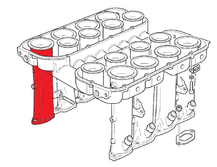 Ferrari 360 Air Intake Manifold