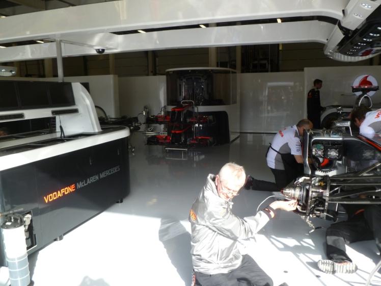 McLaren F1 Garage