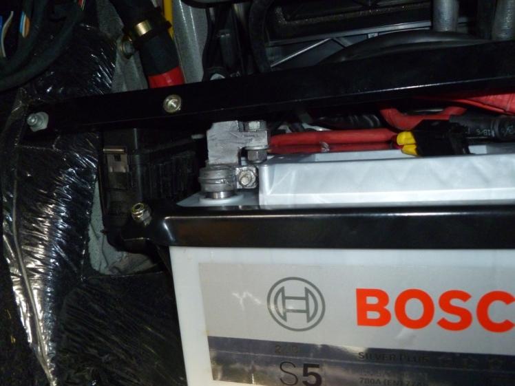 Ferrari 360 Battery Change