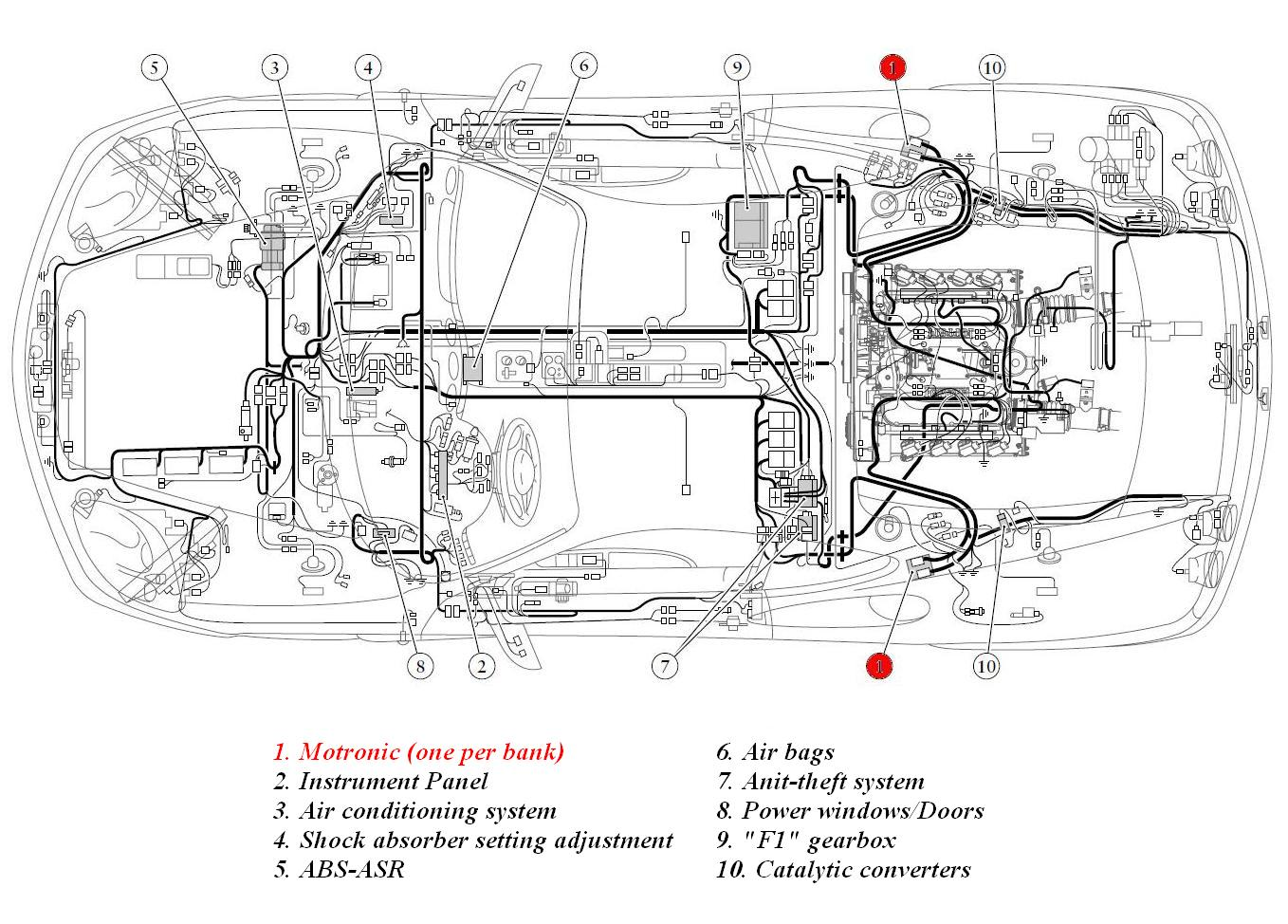 air suspension wiring diagram air suspension system wiring