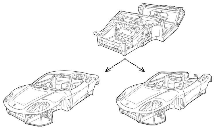 Ferrari 360 Chassis