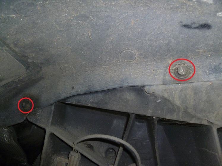 Ferrari 360 Side Skirt Removal