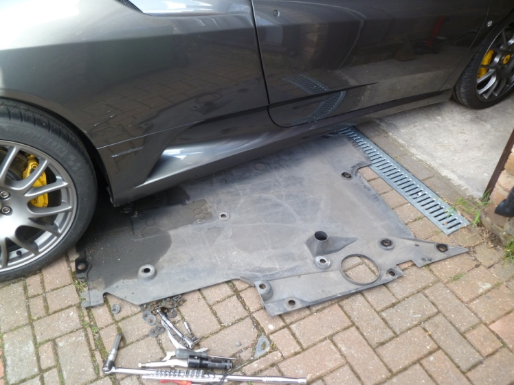 Removing the undertray
