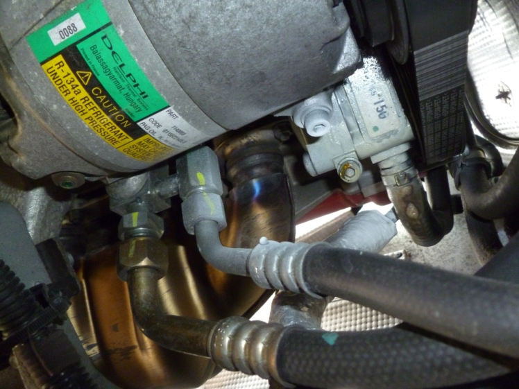 Pesky AC compressor in the way