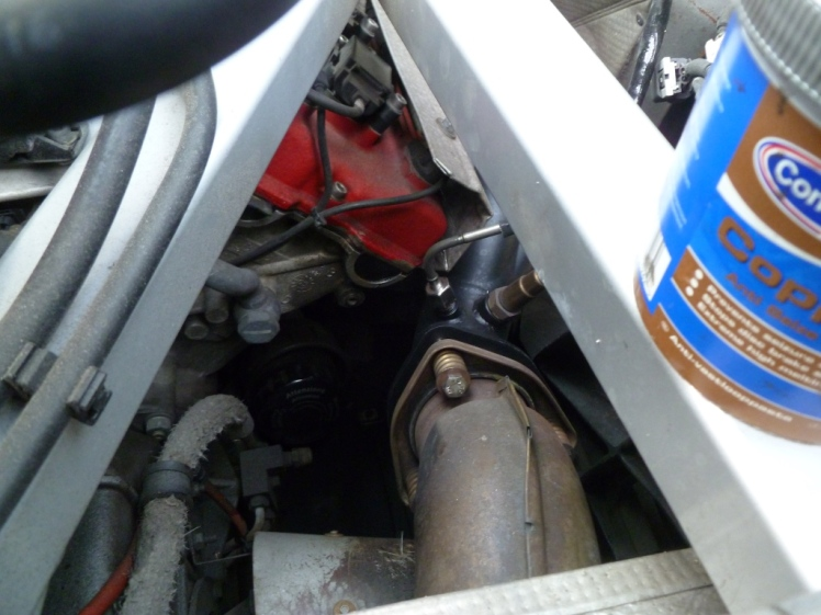 Don't get any copper grease on the sensor or in the exhaust
