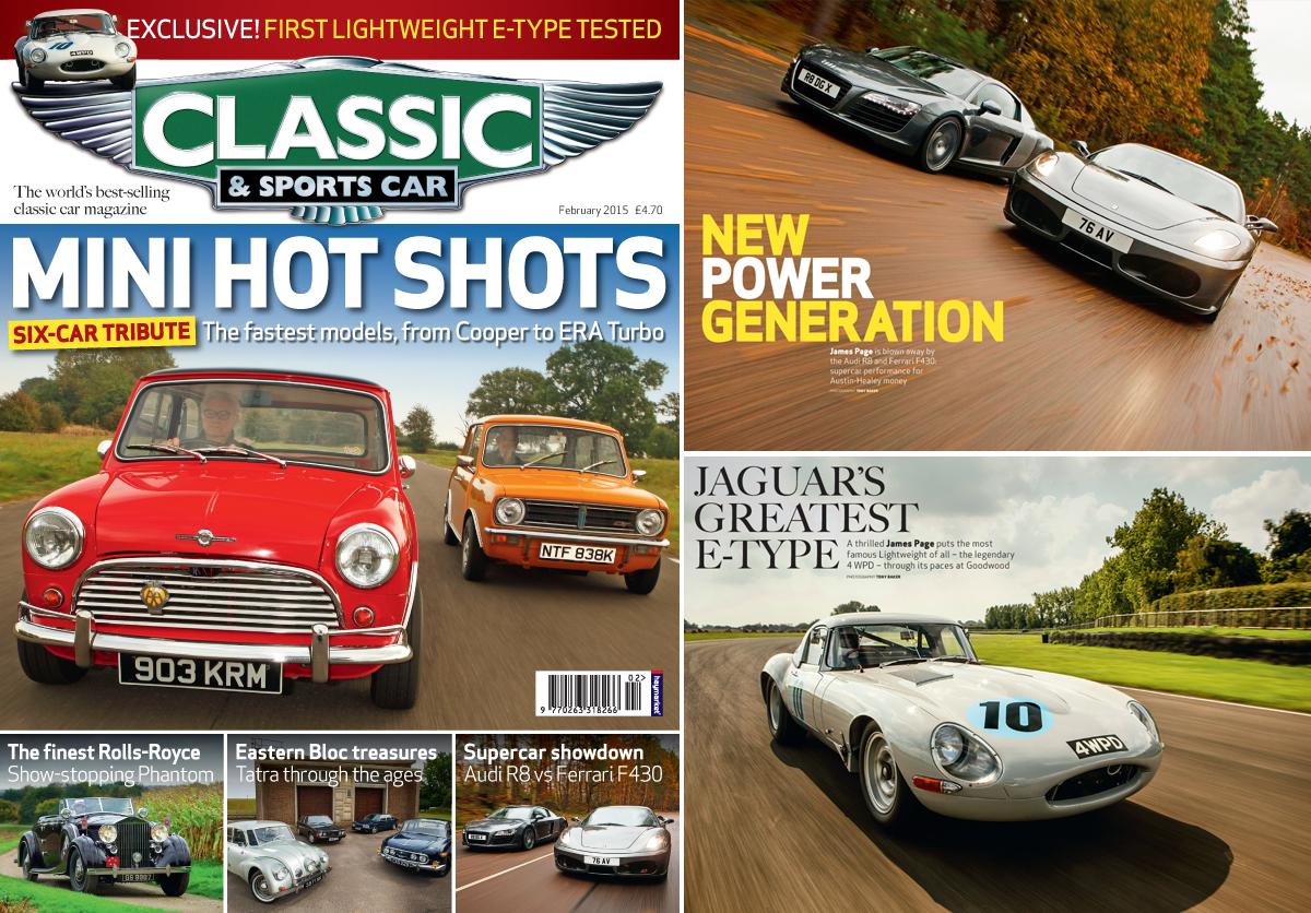 Classic and Sports Car Magazine Article – Aldous Voice